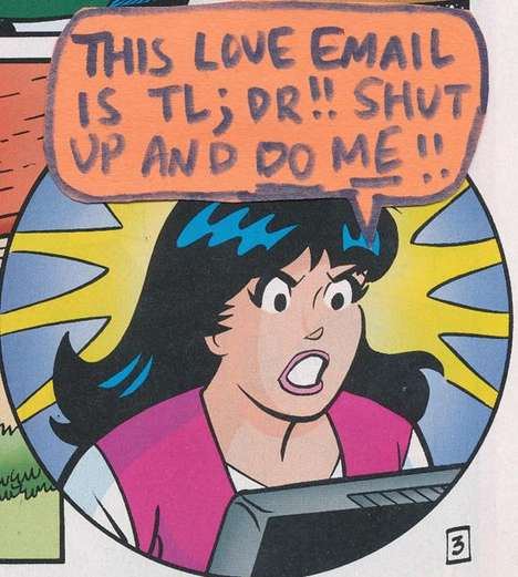 Comic Computer Addictions - Jim Behrle Sheds a New Light on Betty and Veronica