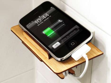 Bamboo Phone Docks