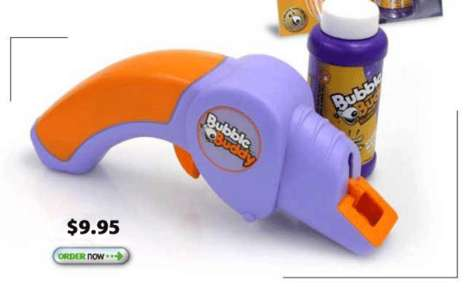 Doggie Bubble Guns