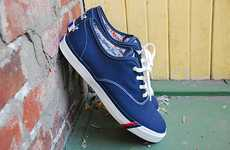Beer-Branded Footwear - Pro-Keds Royal CVO Sneakers Receive a Pabst Blue Ribbon Makeover