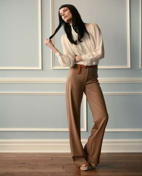 Sophisticated Pleated Fashion