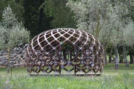 Latticed Rotundas