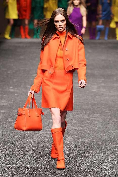 Monochromatic Fall Fashion
