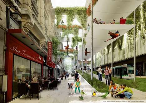 Collectif et alors Unveils a Gloriously Green Paris for the Year 2100
