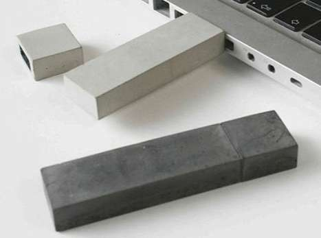 Kix Berlin Presents USB Sticks Made Out of Concrete