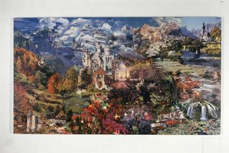54-Foot Puzzle Collages