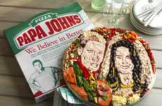 Mouthwatering Monarchical Meals - Papa John's Royal Wedding Pizza is a Delicious Work of Art