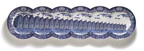 Conjoined Porcelain Plates
