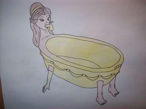 Transformed Disney Princesses