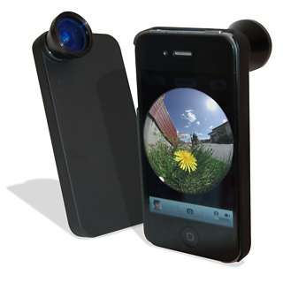 Artistic iPhone Lenses - The FishEYE iPhone Cover Gives You a 160 Degree View of the World