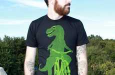 Bicycling Animal Tees