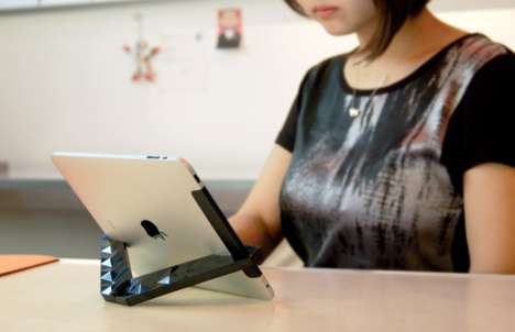 Angle-Oriented Tablet Stands - Hinge for iPad Gives You Multiple Ways to View Your Screen
