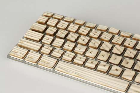 Warped Wavy Keyboards - Tactile Keys by Michael Roopenian is a Wicked Way to Spruce Up the Desktop