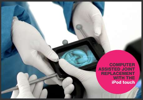 iPod-Enhanced Surgery - A Breakthrough Concept for Navigating Around Knees and Hips