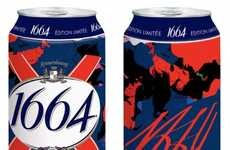 Couture Cola Packaging - The Christian Lacroix for Kronenbourg Bottles Make an Impression