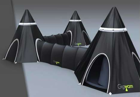 Tent Labyrinths