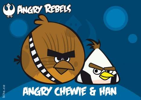 Bite.ca Presents its Latest Collection of Angry Birds Star Wars Characters