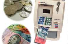 Household Withdrawal Devices - The Cyber Bank Personal ATM Promotes Saving Overspending