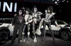 Charitable Band Cars - MINI and Hard Rock Group KISS Join Forces to Benefit Japan Relief Efforts
