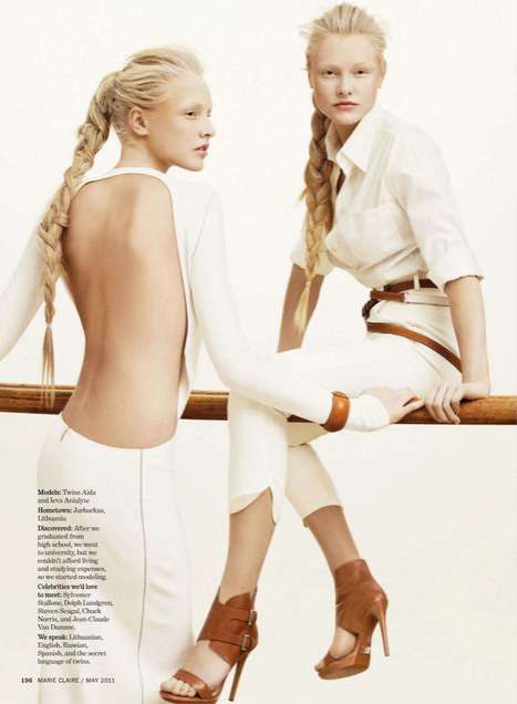 Two-Tone Twin Editorials