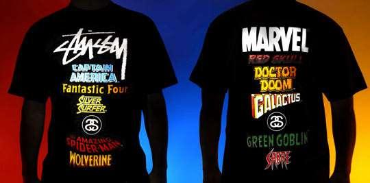 dfe3d946073a Superhero Designer Streetwear : Stussy x Marvel The Ultimate Team Up