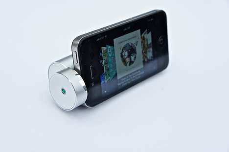 Super-Small Speaker Gadgets - The Sony Ericsson Media Speaker Stand MS430 is Ultra Portable