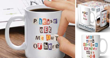 Ransom Note Cups