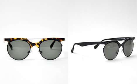 Remixed Retro Eyewear - The  Spitfire Novocaine Glasses Combine Modern and Retro Aesthetics