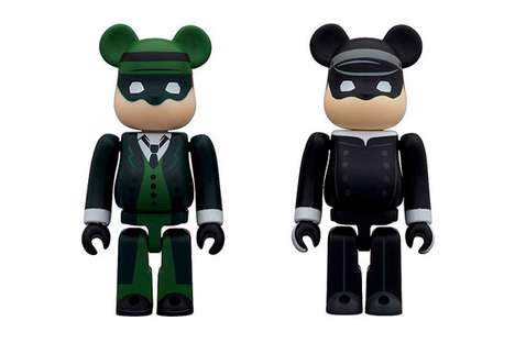 The Green Hornet & Kato Medicom Toy Bearbrick