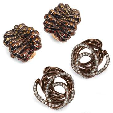 The Unedible Jewelry: Chocolate Brown Gold