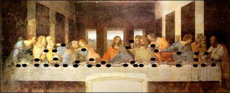 Hidden Music in Da Vinci Painting