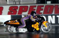 Electric Dragbike Reaches Record Speeds