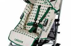 Luxury Cruisers For the Jr Jet-Set - Lacoste Baby Carriage