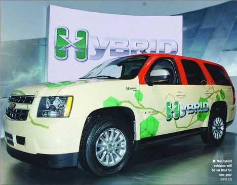 Hybrid Taxis in Dubai