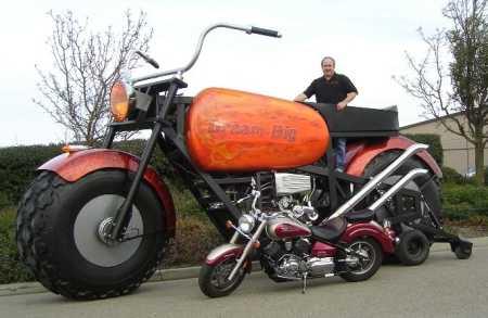 Super-Sized American Bike