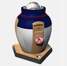 Urn Your Baseball Team's Logo