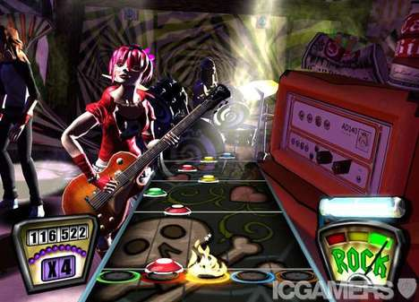 """MTV """"Rock Band"""" Video Game Launched & It Rocks (UPDATE)"""