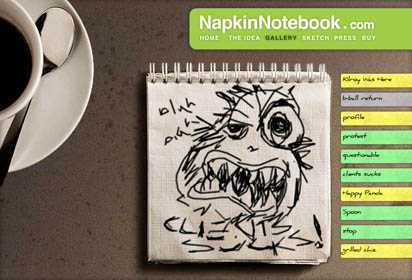 The Napkin Notebook