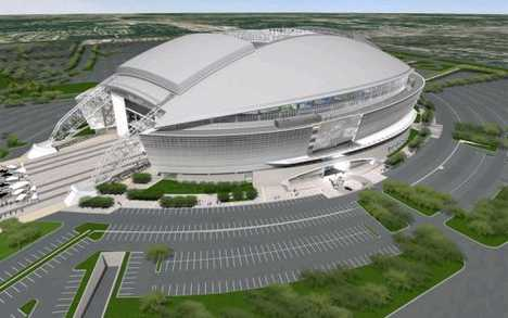 $154,350 Stadium Seats - Dallas Cowboys Billion Dollar Stadium