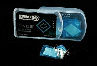 Hershey's Cocaine Packaging