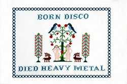 Rock & Roll Cross Stitch