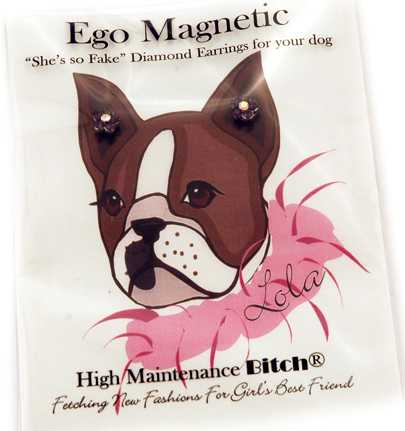 Diamond Earrings For Dogs