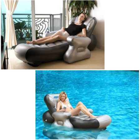Portable Inflatable Multimedia Massage Chair - Astone Sit N Joy