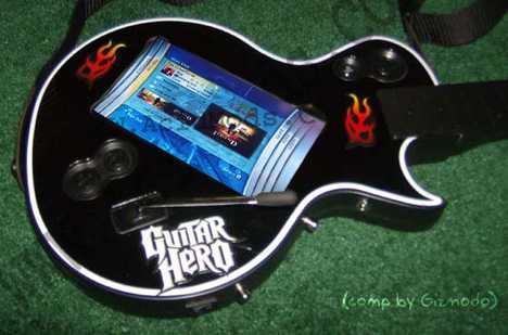 Touchscreen Guitar - Modified Guitar Hero 3 Also Has Magnetic Switch
