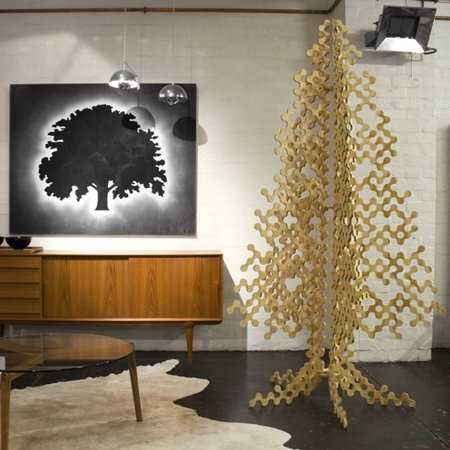 Puzzle-Like Christmas Tree - Buro North's Tree is 80% More Eco Friendly