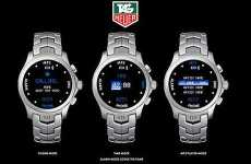 Luxury Phone Watch - Tag Heuer Jumps Into Gadgets for 2008