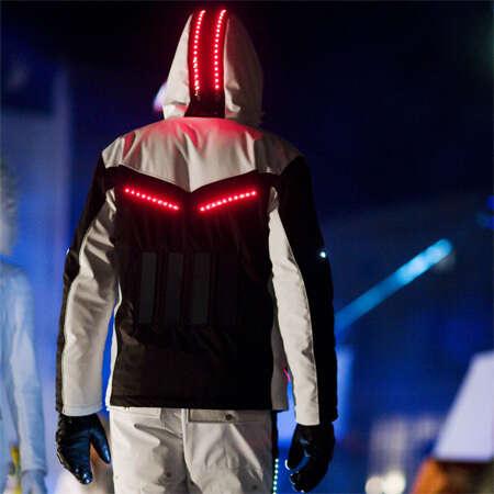 Solar Powered LED Ski Suit
