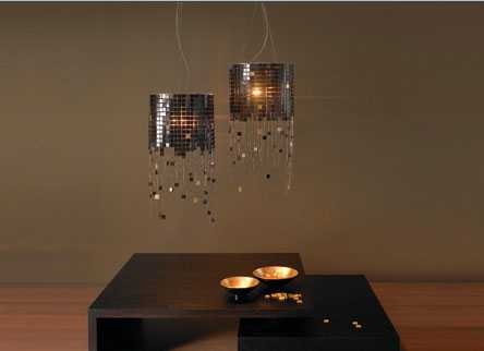 Glittering Metal Jelly Fish Lamps