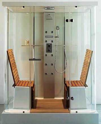 Futuristic Steam Showers