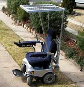 Solar Power Wheelchair